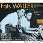 COMPL.RECORDED 38-40 V.5  ( 4 CD)         cd musicale di WALLER  FATS