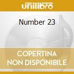 Number 23 cd musicale di Ost