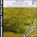 Trio n.1 e n.2 op.1 cd musicale di Beethoven ludwig van