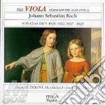 Bach J.S. - Sonata Per Viola Bwv 1020, 1022, 1027, 1 028, 1029 cd musicale di Johann Sebastian Bach