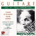 Guitare plus vol.31: 7 songs, in the woo cd musicale di Toru Takemitzu