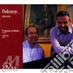 Melodies cd musicale di Claude Debussy