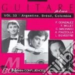 Guitare Plus Vol.33: Argentina - Brasile - Colombia, Composizioni Di Silvestre, cd musicale