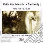 Trii con pf (opp.49 e 66) cd musicale di Felix Mendelssohn