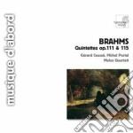 Brahms Johannes - Quintetto Con Clarinetto Op.115, Quintetto Per Archi Op.111 cd musicale di Johannes Brahms
