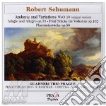 Schumann Robert - Andante E Variazioni Woo 10, 5 Stucke In Volkston Op.102, Adagio E Allegro Op.70 cd musicale di Robert Schumann