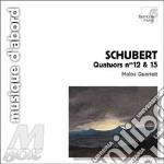 Quartetto n.12 d 703(quartettsatz), n.15 cd musicale di Franz Schubert