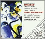 Poemi sinfonici (versioni per 2 pianofor cd musicale di Franz Liszt