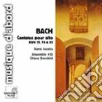 Bach J.S. - Cantate Per Contralto Bwv 82, 35, 53 cd musicale di Johann Sebastian Bach