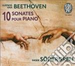 10 sonate per pianoforte cd musicale di BEETHOVEN LUDWIG VAN