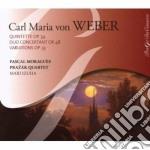 Weber Carl Maria Von - Quintetto Con Clarinetto Op.34, Gran Duo Concertante Op.48, 7 Variazioni Op.33 cd musicale di Weber carl maria von