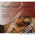 Rimsky-korsakov Nikolay - Quintetto Per Pianoforte E Fiati, Sesetto Per Archi cd musicale di Rimsky korsakov niko