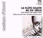 La Flûte Soliste Au Xx Siècle cd musicale