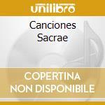 Canciones sacrae sex vocibus cd musicale di LASSUS ORLANDO DE