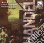 Arias for... cd musicale di HANDEL GEORG FRIEDRI