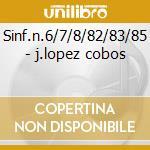 Sinf.n.6/7/8/82/83/85 - j.lopez cobos cd musicale di Haydn