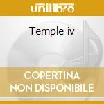 Temple iv cd musicale di Roy Montgomery