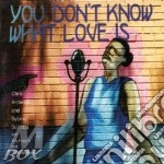You don't know what love - cd musicale di Chris anderson trio