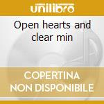 Open hearts and clear min cd musicale di Step First