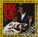 Magic Slim - Magic Blues Chic.b.s.v.24 cd musicale di Slim Magic