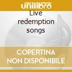 Live redemption songs cd musicale di Wailers