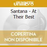 Santana - At Their Best cd musicale