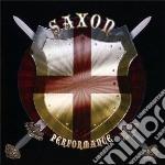 Performance cd musicale di Saxon