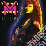 Meltdown cd musicale di Vinnie Moore