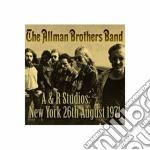 (LP VINILE) A&r studios - new york 26th august 1971 lp vinile di Allman brothers band