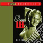 Peggy Lee - I Get Ideas cd musicale di Peggy Lee