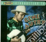 Gene Autry - Don't Fence Me In cd musicale di Gene Autry