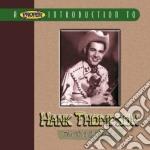 Hank Thompson - The Wild Side Of Life cd musicale di Thompson Hank