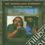 When the night comes down cd musicale di The sutherland broth