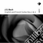 Bach - Curtis - Apex: Suites Francesi E Inglesi 3 & 4 cd musicale di Bach\curtis