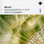 Apex: quartetti per archi nn 17 & 19 cd musicale di Wolfgang Amadeus Mozart