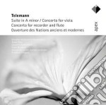 Telemann - Bruggen - Rieu - Apex: Suite - Concerti Ouverture cd musicale di Telemann\bruggen - r
