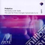 Apex: romeo & juliet - the love for 3 or cd musicale di Prokofiev\saraste