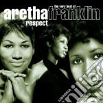 RESPECT/THE VERY BEST OF (2CDx1) cd musicale di Aretha Franklin