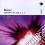 Sinding - Rasilainen - Apex: Sinfonie Nn. 1 & 2 cd musicale di Sinding\rasilainen