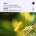 Fucik - Dvorak - Neumann - Apex: L'entrata Dei Gladiatori - Rapsodia Op. 45 cd musicale di Fucik - dvorak\neuma