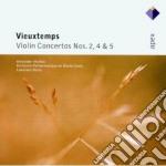Vieuxtemps - Markov - Renes - Apex: Concerti Per Violino Nn. 2,4 & 5 cd musicale di Vieuxtemps\markov -