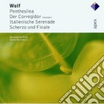 Wolf - Barenboim - Apex: Penthesilea -der Corregidor-italian Serenade cd musicale di Wolf\barenboim