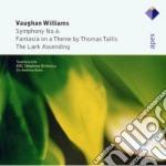 Vaughan Williams - Davis - Little - Apex: Sinfonia N.6 - The Lark Ascending - Fantasia cd musicale di Williams\dav Vaughan