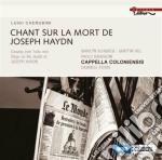 Cherubini Luigi - Chant Sur La Mort De Joseph Haydn cd musicale di Luigi Cherubini