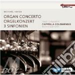 CONCERTO PER ORGANO E 3 SINFONIE          cd musicale di Michael Haydn