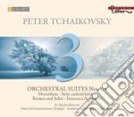 Suite n.1 op.43, suite n.2 op.53, suite cd musicale di Ciaikovski pyotr il