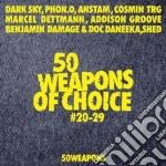 (LP VINILE) 50 weapons of choice #20-29 lp vinile di Artisti Vari