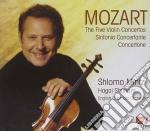 Mozart - The Five Violin Concertos, Sinfonia Concertante, Concertone - Mintz cd musicale