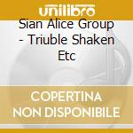TROUBLE SHAKEN ETC                        cd musicale di SIAN ALICE GROUP
