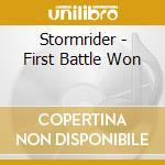 Stormrider - First Battle Won cd musicale